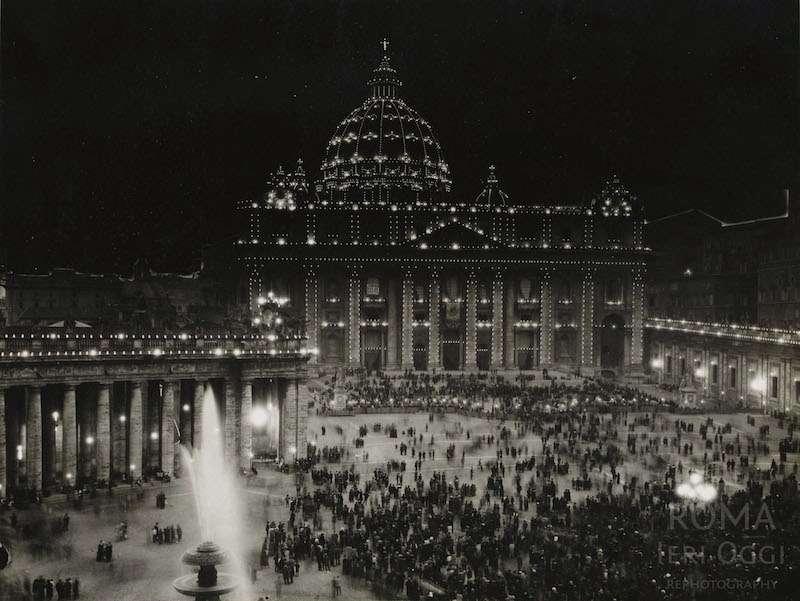 Piazza San Pietro (1930 ca)