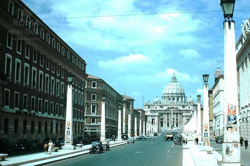 Via della Conciliazione (1954)