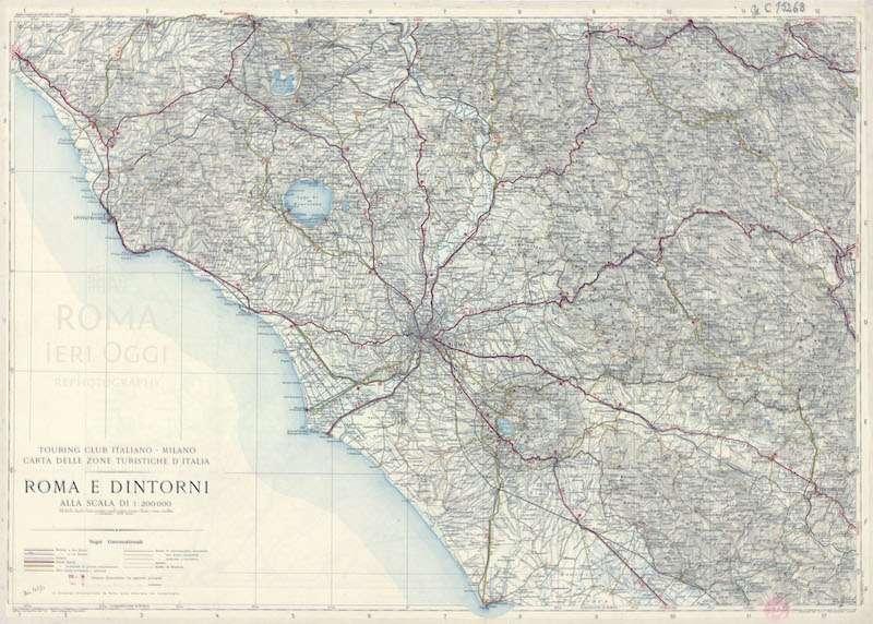 Roma e Dintorni  – TCI 1931