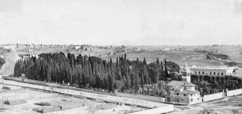 Cimitero Acattolico (1900 ca)