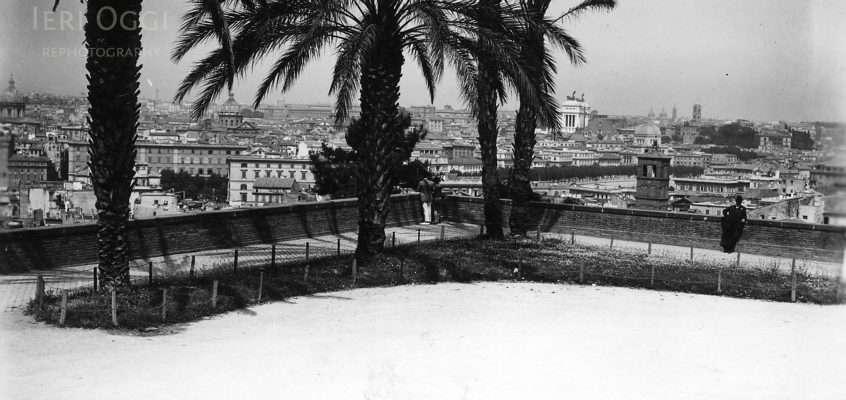 Piazza di San Pietro in Montorio (1928 ca)