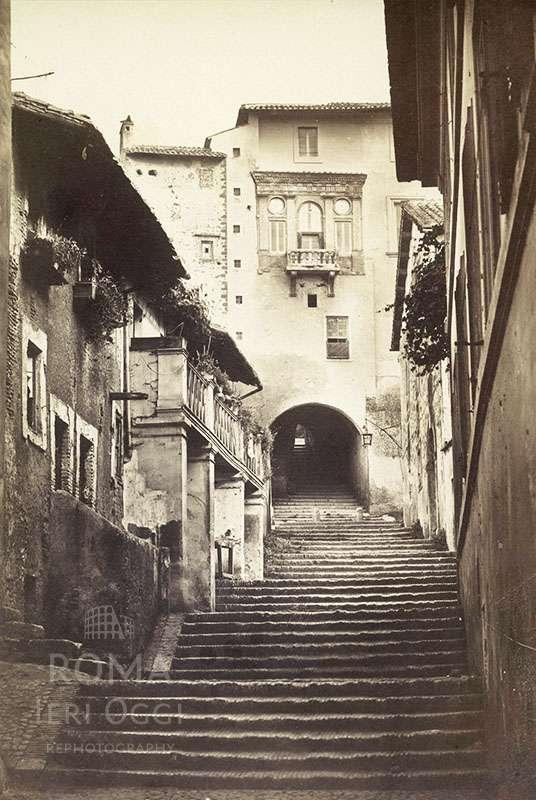 Via San Francesco di Paola (1875 ca)