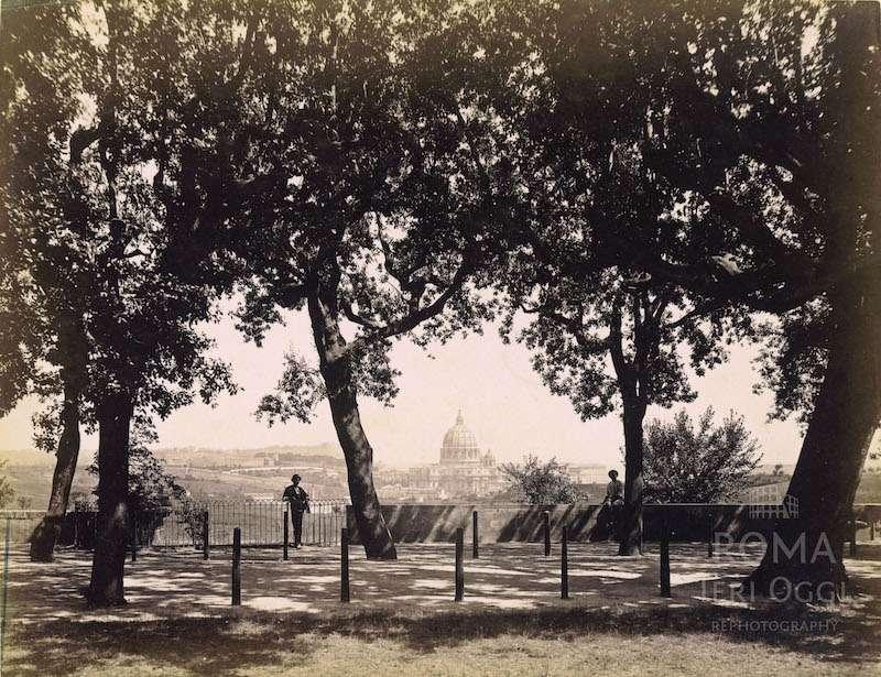 Villa Doria Pamphilj (1870 ca)
