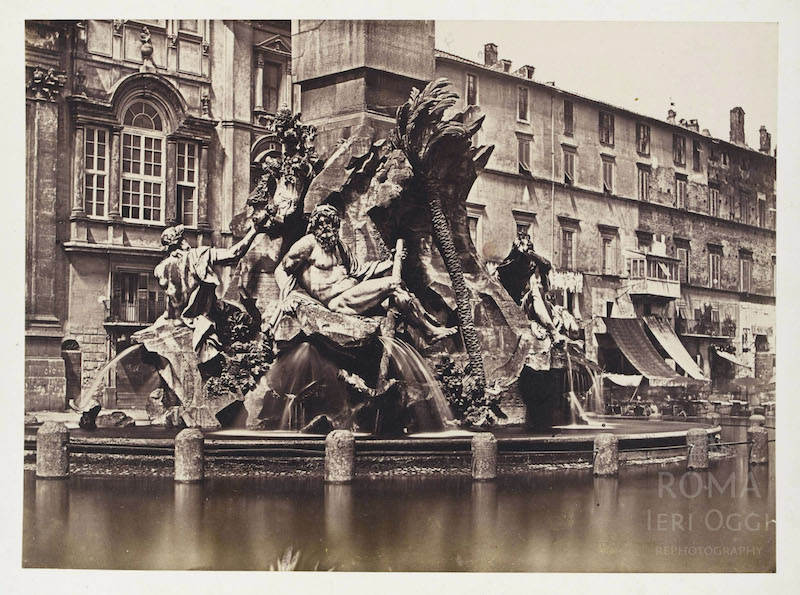 Piazza Navona (1854)