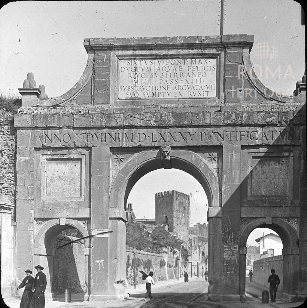 Via di porta san lorenzo 1880 ca roma ieri oggi - Replica porta a porta di ieri ...
