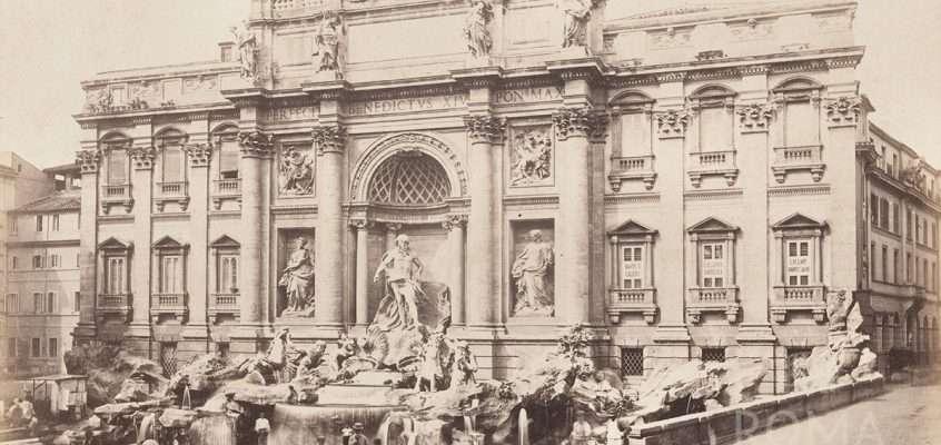 Fontana di Trevi (1875 ca)