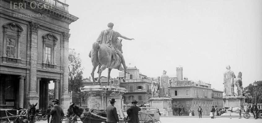 Piazza del Campidoglio (1900 ca)