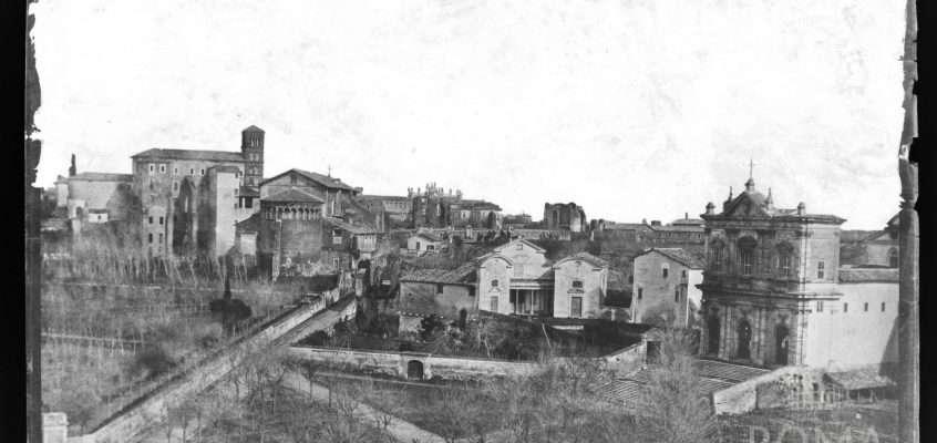 Piazza di San Gregorio (1850 ca)