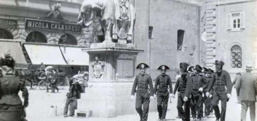 Piazza della Minerva (1907 ca)