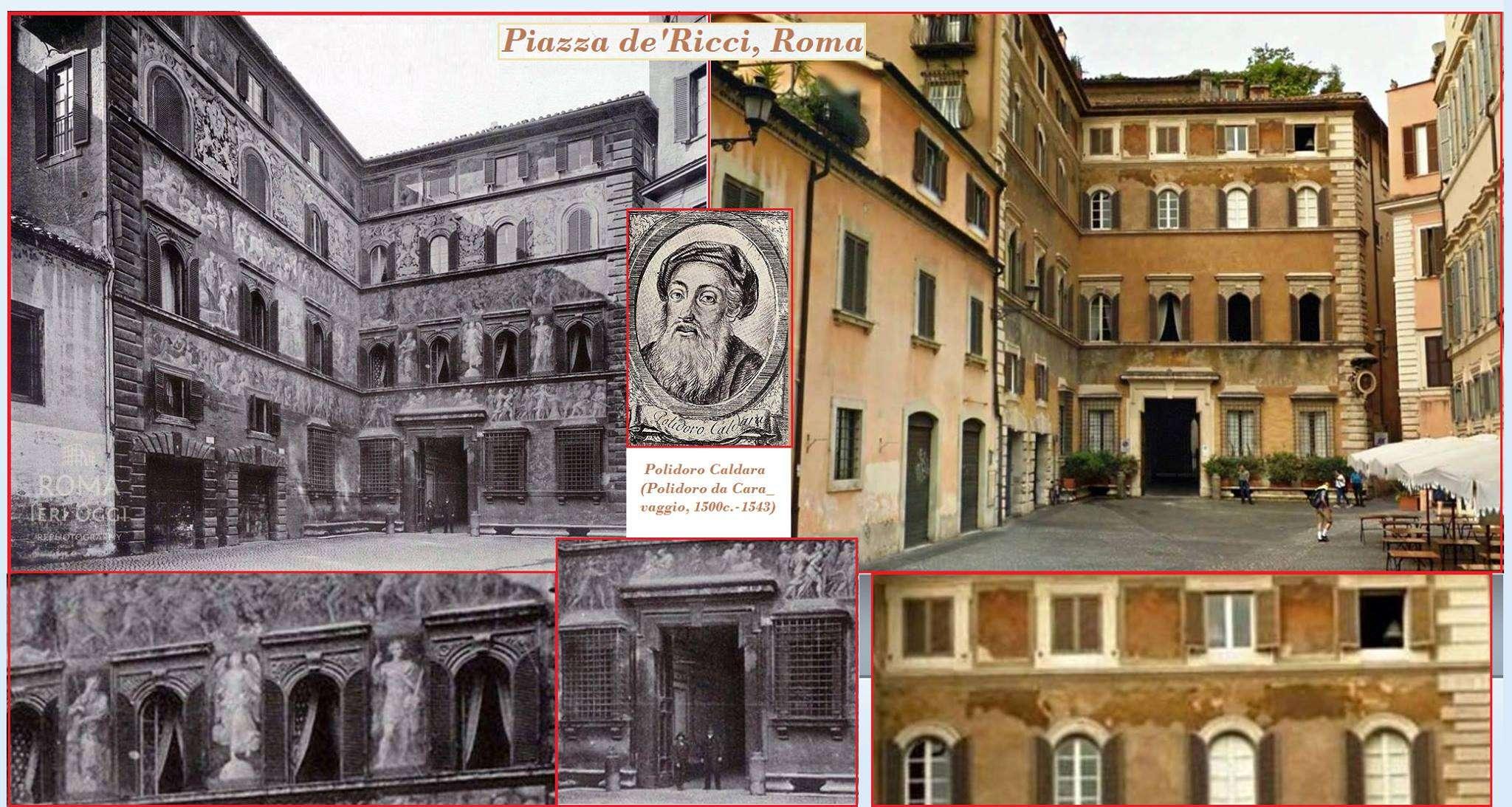 Piazza de 39 ricci 1891 roma ieri oggi for Ca roma volta mantovana