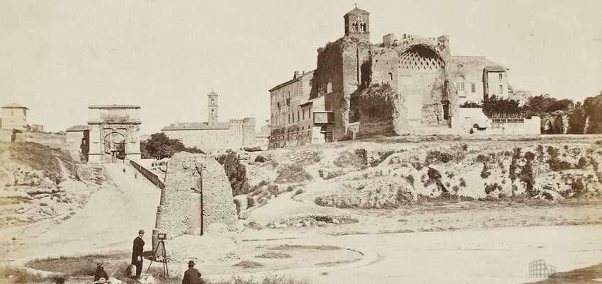 Piazza del Colosseo (Altobelli e Molins, 1865 ca)