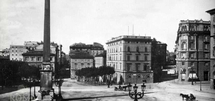 Piazza dell'Esquilino (1895)