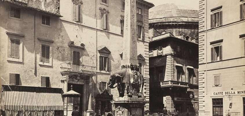 Piazza della Minerva (1850)