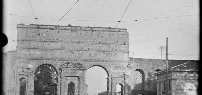 Piazza di Porta Maggiore (1920 ca)