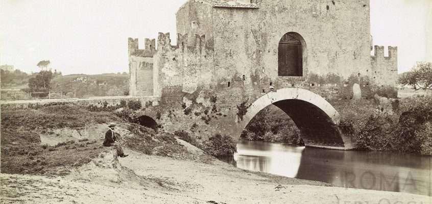 Ponte Nomentano (Molins, 1867 ca)
