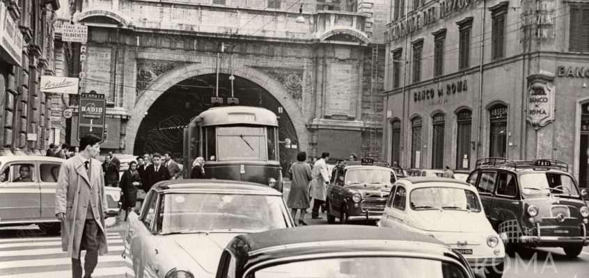 Via del Traforo (1961 ca)