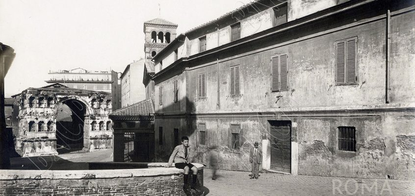 Via del Velabro (1940 ca)