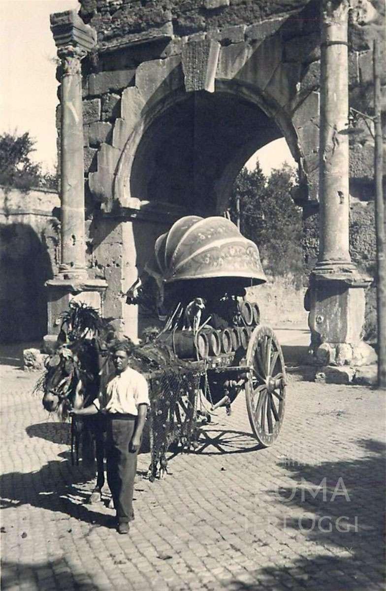 Via di Porta San Sebastiano (1912)