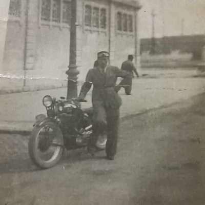 Francesca Polinari - Mio padre Francesco.1935-36 Via Ostiense Ex Mercati Generali