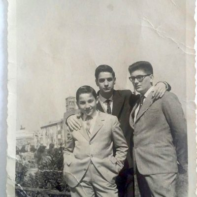 Sonia Lorito - Papà adolescente ❤ inizio anni 60 sullo sfondo il Vittoriano