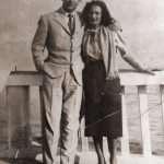 Alessandro Venturini - I miei Nonni Bruno Venturini e Adalma Meloni a Ostia 1946