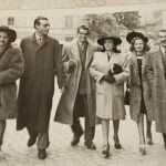 Angelo Figoli - Mia madre e mio padre ( la coppia al centro ) a passeggio per Roma nel 1942