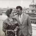 Angelo Zanni - Papà e Mamma. Altare della Patria (Maggio 1960).