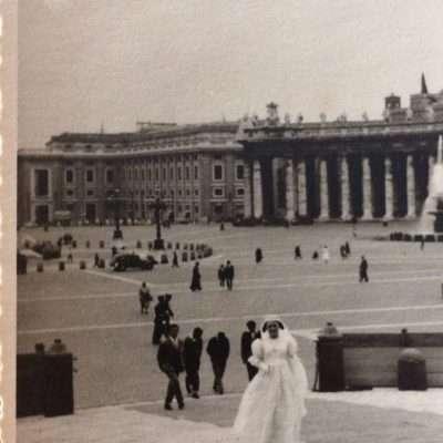 Anna Ciammarughi - 3 giugno 1957, la mia Cresima (che ricevetti effettivamente in s. Pietro)