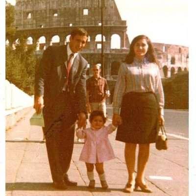 Anna Maria Recchia - Io con i miei zii... Anno 1967, piú o meno!