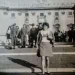 Annalisa Vece - questa sono io sulla scalinata del campidoglio anni 60:70