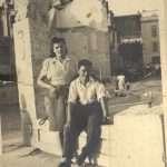 Antonello Cervone - I miei genitori nel 46:47 ma non so dove ... mio padre era di San Lorenzo quindi ho sempre pensato che fosse stata scattata da quelle parti ....qualcuno ha un'idea?