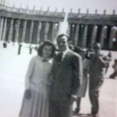 Carla Verrecchia - I miei genitori nel 1949.