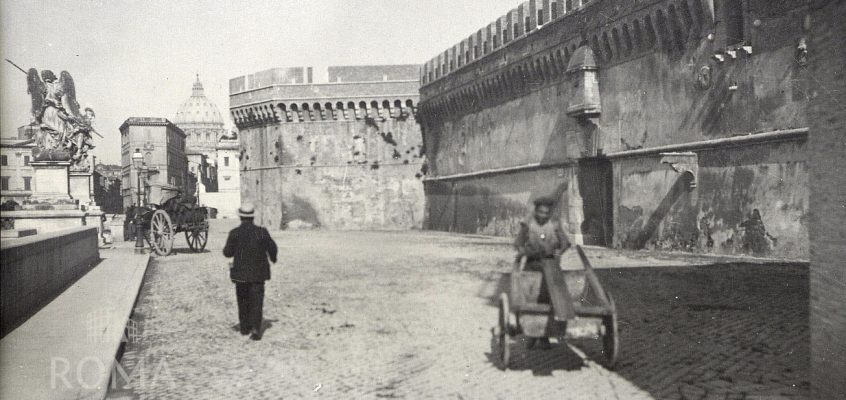 Castel Sant'Angelo (1890 ca) 3 foto