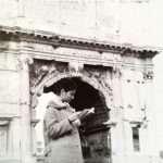 Dora Tarallo - Mia madre studentessa universitaria de La Sapienza (Febbraio 1962)