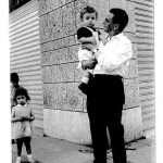 Fabrizio Candolfi - Io e mio padre, Giugno 1964 Lungotevere degli Artigiani angolo Via degli Stradivari