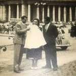 Franca Da Cas - Piazza San Pietro il mio battesimo 1956