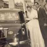 Francesca Giovannini - Mamma e papà matrimonio 13 giugno 1957 S.Maria in Traspontina