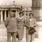 Francesca Sofia - Zio Dante e Zia Adele con la figlia Sandrina