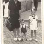 Franco Altamura - Estate 1946 Io, mia madre e mia sorella in quel di Torpignattara