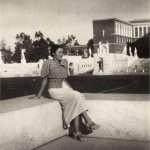 Gerardo Taccoli - Stadio dei marmi 1940 circa, mia madre.