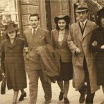 Gerardo Taccoli - 1940. i miei genitori a sinistra e miei zii a destra, il bambino è un intruso
