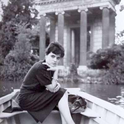 Gianna Sartori - Questa sono io al laghetto di villa Borghese,1960