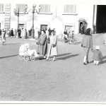 Giovanna Basso - Piazza del Quirinale 16 febbraio 1954. Mia madre , mia zia...e io nella carrozzina.