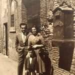 Giuseppe Pino Giampaolo - 1958 I miei suoceri. Via del Portico d'Ottavia