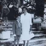 Giuseppe Vito Di Vito - Io e mia madre , collegio suore Stimmatine in via del Forte Trionfale Monte Mario Roma