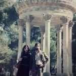 Gloria Althea Gaetani - I miei genitori a Villa Borghese credo fosse il 1975 o giù di li