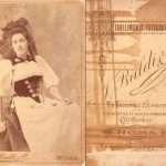 Josep Tuñí - cugina Lolita, sacattata a Roma circa 1890