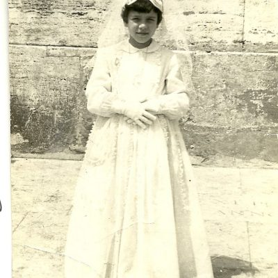 Laura Marinaccio Ruiz - My first communion, Vatican 1962 Rome