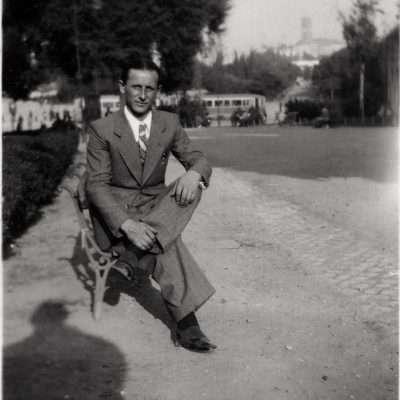 Marcello Luchetti - Mio padre a Roma fine anni 30, ma non riconosco il posto.