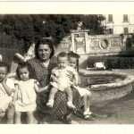 Marisa Mancini - anni cinquanta noi con mamma